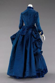 Augustine Martin & Company, Afternoon dress, c.1885