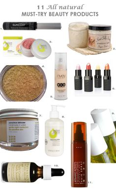 11 All Natural Must-Try Beauty Products | Live in the Now | Natural Health News | Natural Health Resources