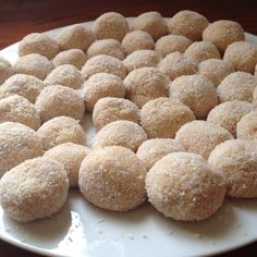 Lemon cheesecake truffle balls :)