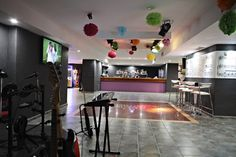 Marconfort #Benidorm Suites Rock & Sports Bar - 70's 80's & 90's music themed hotel www.marconfort.com