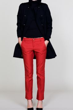 red pants at emersonmade
