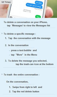 #HowTo : Delete a conversation on your #iPhone  #tech #technology #innovation #science http://arzillion.com/S/zu9BjS