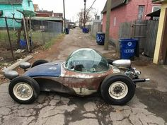 A place for Rat Rods, Odd Rods, Hot Rods, & Junkers. Rat Rods, Vw Rat Rod, Weird Cars, Cool Cars, Voitures Hot Wheels, Vw T1 Camper, Carros Audi, Vw Cabrio, Kustom Kulture