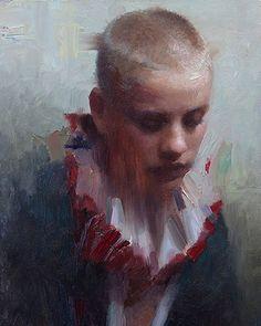 """Harlequin"" by Joseph Todorovitch! Check those beautiful brushstrokes, wonderful work! """