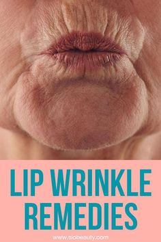 Are you dealing with upper lip wrinkles? You can counteract signs of aging and keep your skin soft and smooth at any age by using the upper lip wrinkle treatments on this list as your guide. Forget about those pesky lines and wrinkles around your mouth! Wrinkle Remedies, Lip Wrinkles, Skin Treatments, How To Line Lips, Upper Lip, Tips Belleza, Natural Skin Care, Natural Beauty, Homemade Beauty Products
