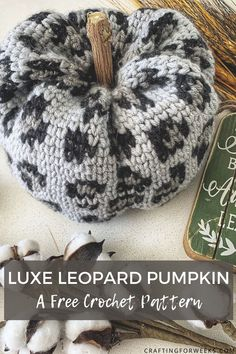 Crochet Fall Decor, Crochet Decoration, Holiday Crochet, Crochet Gifts, Free Crochet, Autumn Crochet, Tapestry Crochet Patterns, Modern Crochet Patterns, Crochet Designs