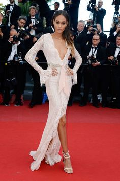 """Joan Smalls Wows in Emilio Pucci at the """"Cleopatra"""" Premiere at Cannes"""