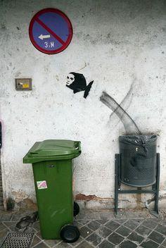 Trash jumping
