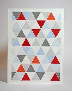 grey + red + blue