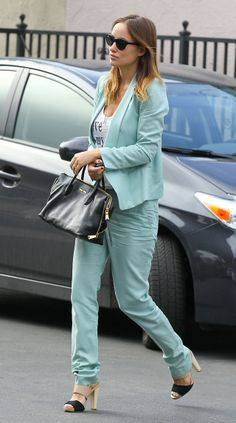 Olivia Wilde looking fabulous out in LA in her Coye Nokes Hana Sandals!