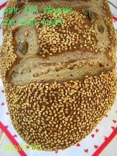 Mi sono innamorata forse troppo tardi dei prodotti fatti con farina integrale. Anzi no! Diciamo che ho potuto cominciare a farmeli da me tr...