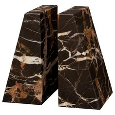 Found it at Wayfair - Black and Gold Zeus Book Ends