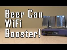 WiFi strength can vary based on your location In your house or your property. The solution is to make a beer can WiFi booster that can double or triple your WiFi signal strength. Boost Wifi Signal, Wi Fi, Fast Internet, Computer Repair, Do It Yourself Projects, Dose, Good To Know, Helpful Hints, The Help