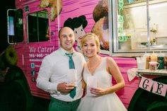 Donut truck for late-night snacks at the reception.