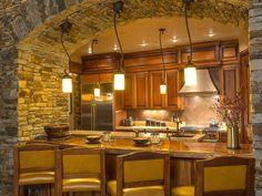 primitive kitchens,rustic kitchen decor,log home kitchens,log cabin kitchens,primitive log home cooking pits  00545