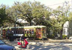 New Orleans Garden District ... Trolly
