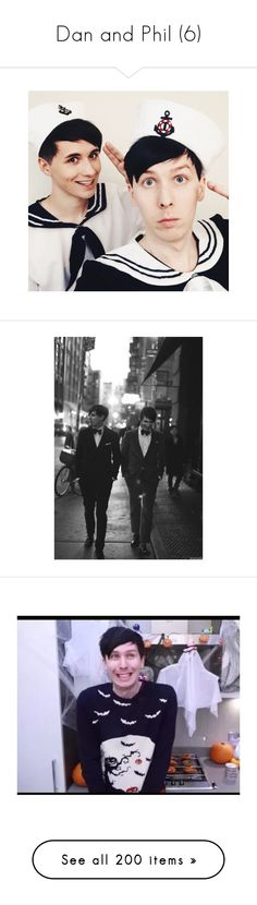 """Dan and Phil (6)"" by merow-cat-tacos ❤ liked on Polyvore featuring dan and phil, danisnotonfire, amazingphil, dan, dan howell, british youtube, selfie, youtube, accessories and tech accessories"