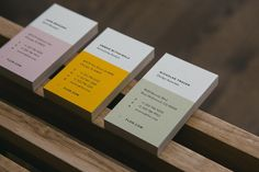 New Logo and Identity for FLOR by Firebelly business card design branding