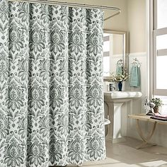 Biltmore 100 Cotton Shower Curtain