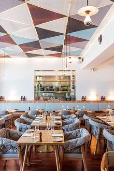 RESTAURANT | The Tilbury Hotel, Australia by Interior Designer Luchetti Krelle. #Interior #Design #Hotel [ok]