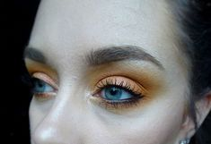 Orange smokey eye using Anastasia Beverly Hills Subculture palette and the shades New Wave and Edge