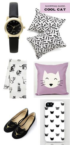 Shopping guide: cute cat products | At Home in Love