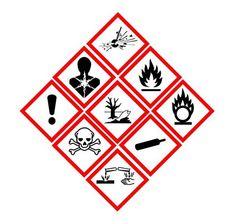 Las nuevas etiquetas de los productos peligrosos