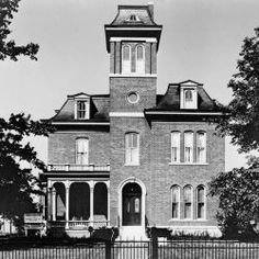 The Morris-Butler House is a Second Empire-style house built in 1864-65 in Indianapolis, Indiana. It is part of Old Northside Historic District of Indianapolis. It is preserved as a museum home by Indiana Landmarks. The house contains many original features and pieces of furniture in Victorian & Post-Victorian styles. John Morris, the son of an Indianapolis settler, had the house built by architect D.A. Bohlen in 1864.