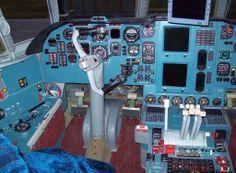 Volga-Dnepr Cargo Airlines Ilyushin IL-76TD-90VD cockpit