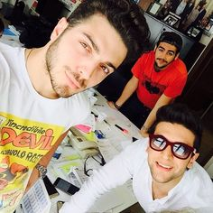#Repost from @ilvolomusic with @ig_saveapp. Working Day! #meeting #newprojects #staytuned #IlVolo #GrandeAmore