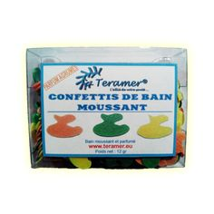 ✭ Confettis de bain moussant canard - Boite de 12gr ✭