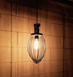 Industrial Hanging Lamp/ Whisk Light Fixture by IWantThattt Mason Jar Light Fixture, Mason Jar Lighting, Light Fixtures, Industrial House, Rustic Industrial, Primitive Country Bathrooms, Rustic Pendant Lighting, Open Concept Home, Condos