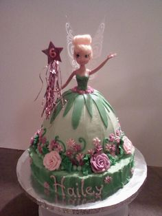 Cake Decorating: Tinkerbell Cake