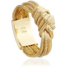 Astley Clarke Woven Overhand Knot Ring