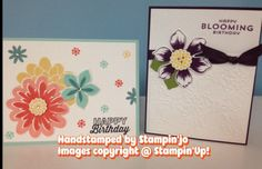 July Stamp Club cards  Joanne Perry www.stampinjo.stampinup.net
