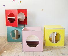 Fauteuils cubes pour enfants via Goodmoods