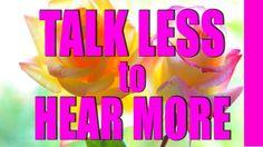Abraham Hicks 2017 - Talk Less to Hear More