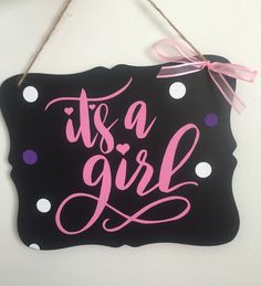 it s a girl printable sign it s a boy chalkboard poster