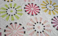 Geta's Quilting Studio: Dresden Quilt Top Done