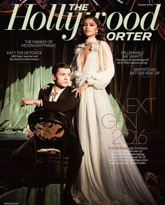 Tom Holland & Zendaya for The Hollywood Reporter November 18th 2016 | Art8amby's Blog