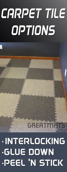 See The Best Carpet Tiles For Attics And Bats Easy To Install Remove Transport