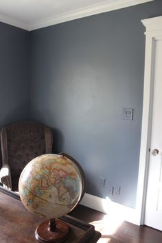 Sherwin Williams Granite Peak - Accent Wall in Living Room and Columns (maybe with a faux finish?)