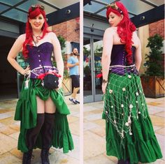 Steampunk ariel w/ sleeves and longer skirt would be perfect