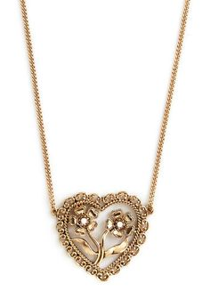 Country Love Necklace by ModCloth #JustForYou