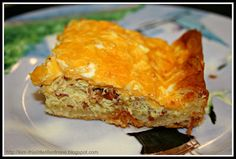 "Crescent breakfast casserole from""Bakin' and Eggs via thislittlelifeofmine blogspot"