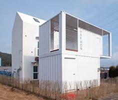 moderne Huizen door AAPA건축사사무소