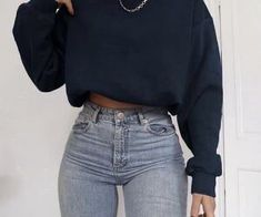 Cute Comfy Outfits, Simple Outfits, Stylish Outfits, Teen Fashion Outfits, Retro Outfits, Fall Outfits, Cold Day Outfits, Girl Fashion, Jugend Mode Outfits