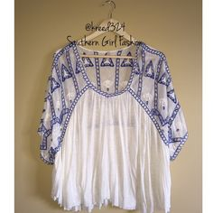 I just discovered this while shopping on Poshmark: Free People $118 Embroidered Eyelet Cutwork Blouse