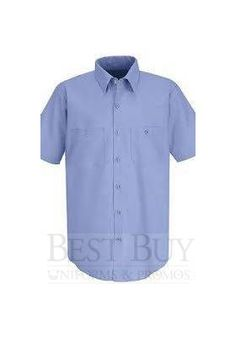 The Lowest Prices online on Mens Styled Short Sleeve Industrial Graded Work Shirt and shop from a huge variety of Industrial Work Shirts. Prices as low as Security Uniforms, Restaurant Uniforms, Maid Uniform, Work Uniforms, Work Shirts, Work Wear, Cool Things To Buy, Men Casual, Mens Fashion