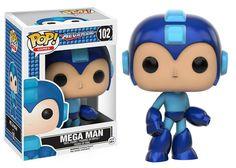 MegaMan POP! Games Vinyl Figur Mega Man 9 cm